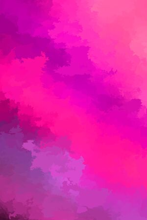 Abstract modern vector background, vertical format. Digitally generated contemporary wallpaper. Vibrant pink and purple backdrop. Çizim