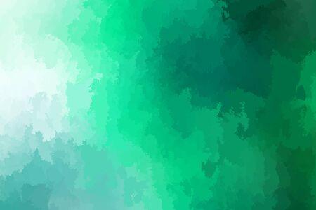 Abstract modern vector background, horizontal format. Digitally generated contemporary wallpaper. Vibrant green backdrop.