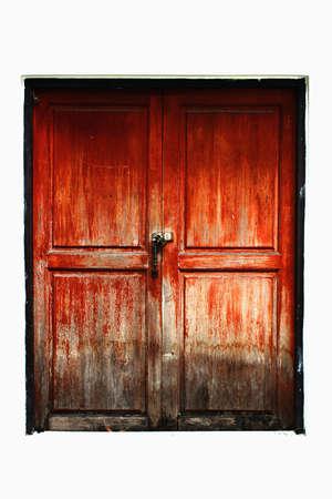 Very old door Stock Photo