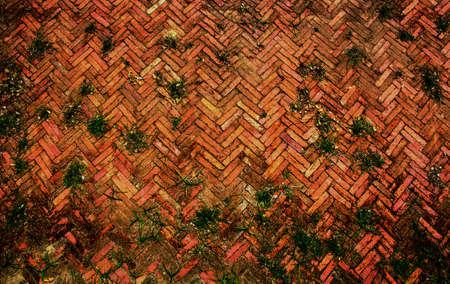 Ancient brick Stock Photo