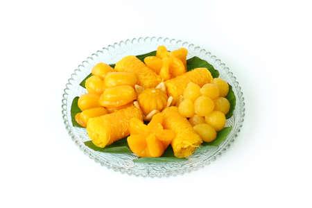 Thai sweet dessert Stock Photo