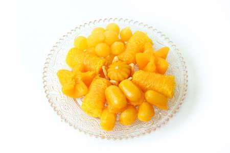 Thai sweet dessert photo