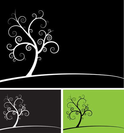 spiral tree Illustration