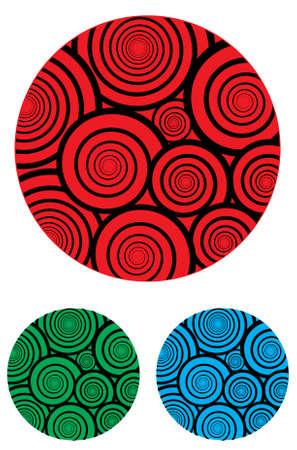 Spiral ball Stock Vector - 20038021