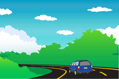 rolling landscape: Mounatin Background