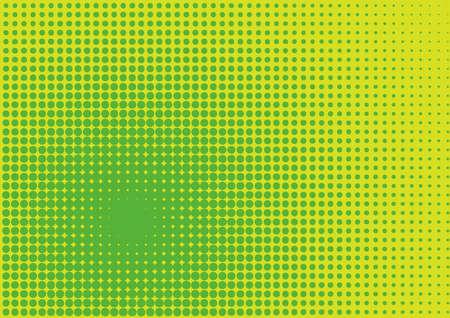 halftone screen Illustration