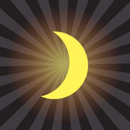 sun star moon  Illustration