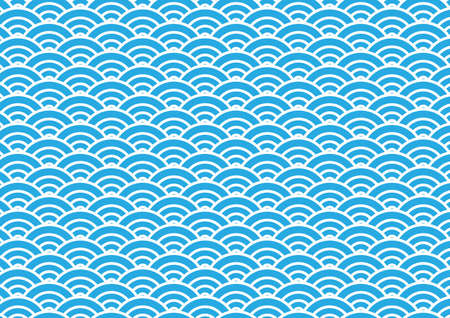 日本の波パターン