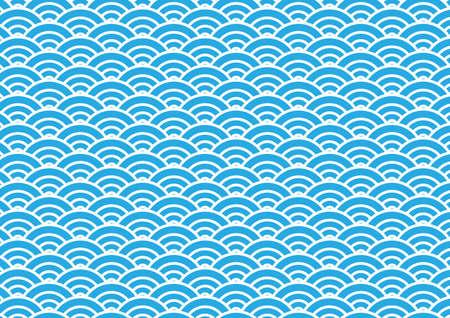 japan wave pattern