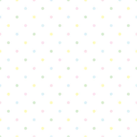 dotted pastel pattern Stock Vector - 20625690