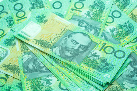 Australian banknotes Background. 版權商用圖片