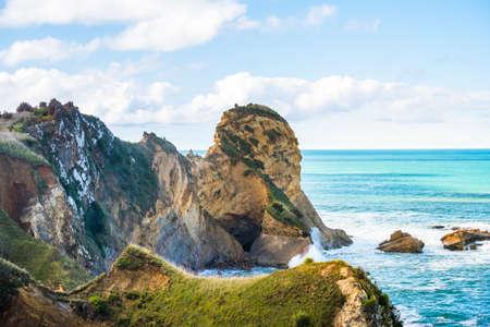 Beautiful landscape of a peninsula.