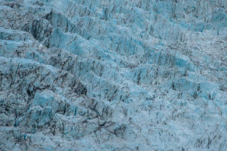 Fraz josef Glacier among the mountain view form Roberts Point Track. New Zealand.