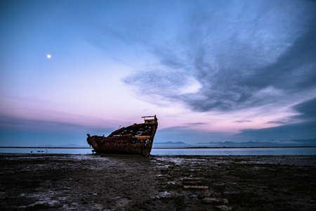 Motueka Ship Wrecked. The famous ship in tasman coast area.