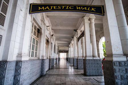 Majestic Walk in side Ipoh train station, Perak, Malaysia.