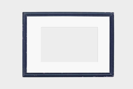 Photo Frame Mock Up on white background. 免版税图像