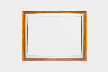 Photo Frame Mock Up on white background. Stock fotó