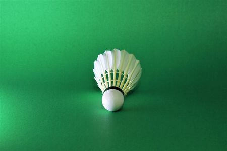 Ready to use shuttlecock for badminton.