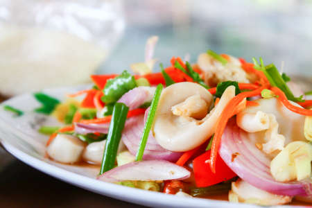 chitterlings: Thai food Stock Photo