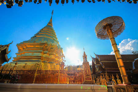 far eastern: Wat Phra That Doi Suthep in Chiang Mai, Thailand.