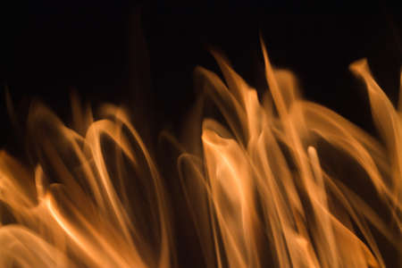 gas fireplace: Blaze fire flame blur texture background