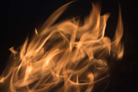 orange inferno: Blaze fire flame blur texture background