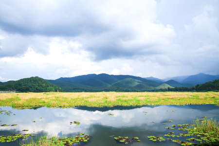 constricted: Lamphun, Thailand constricted reservoirs mother nature.