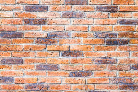 brick texture: Orange brick texture background