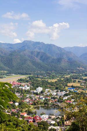 Mae Hong Son view landscape nature.