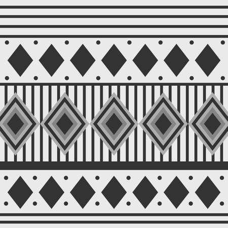 Black and white arabesque Geometric design background card for Ramadan Kareem.Vector illustration. Imagens