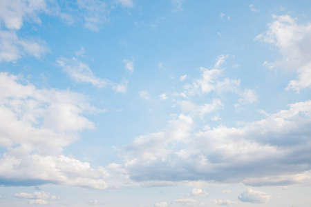 Blue sky and clouds in the weather day outdoor nature environment abstract background