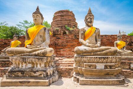 Budda image - Ayuttaya Thailand photo