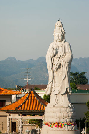 Chinese statue of god