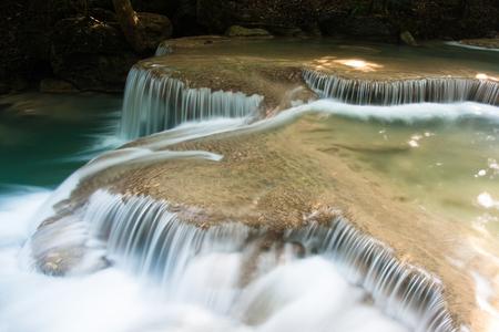 Erawan waterfall Stok Fotoğraf
