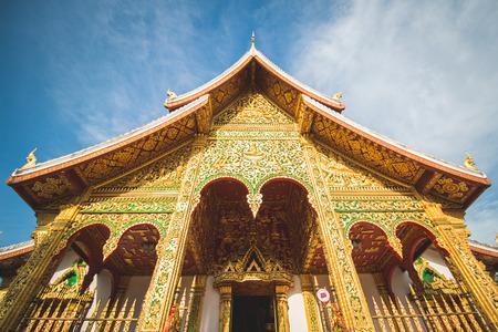 Buddhist Temple in Luang Prabang Royal Palace, Laos