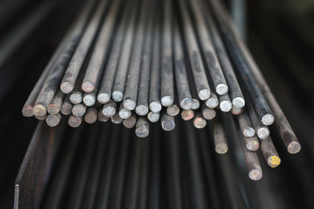 Steel rods sale at storehouse
