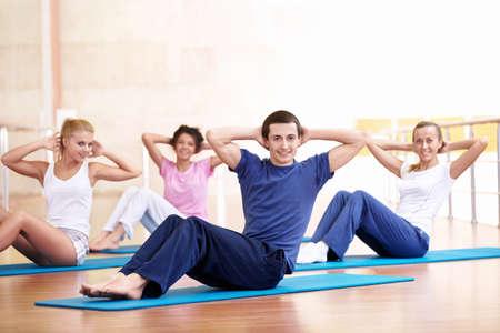 coordinacion: Grupo de j�venes de personas involucradas en el gimnasio