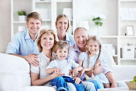 a generation: Happy big family home
