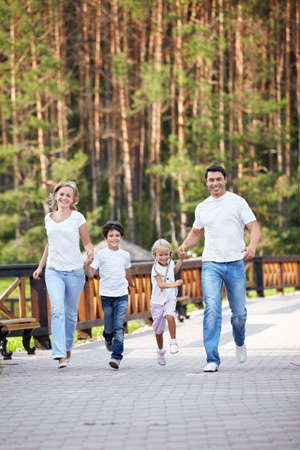 family fun: Running a family with children