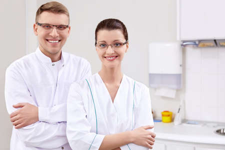 Doctors at the Dental Clinic photo