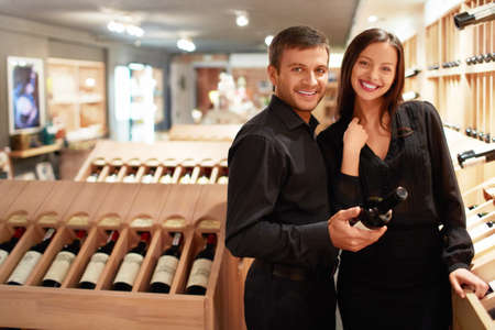 Young couple in the store Stock Photo - 14645750