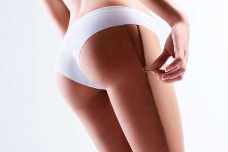 fesse: Fermoirs � glissi�re main sur les fesses de sport