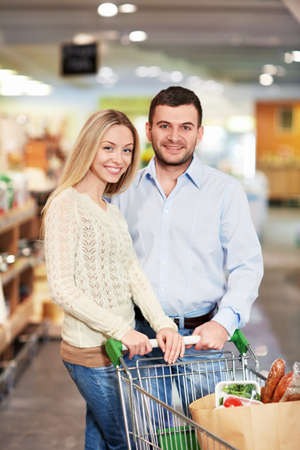 Young couple in the store Stock Photo - 18357764