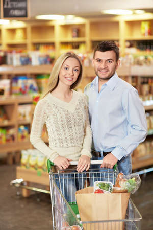 Young couple in the store Stock Photo - 18941084