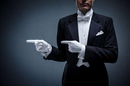 tuxedo: Young man in a tuxedo