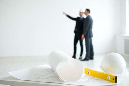 Architects planning indoor photo