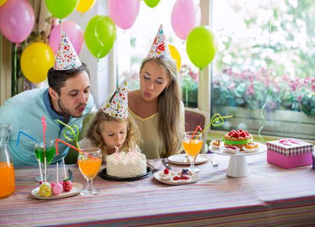 childrens birthday party: happiness