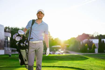Young man outdoors Standard-Bild