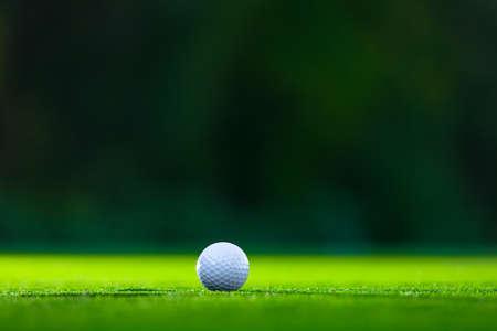芝生の上のゴルフボール 写真素材 - 49701535