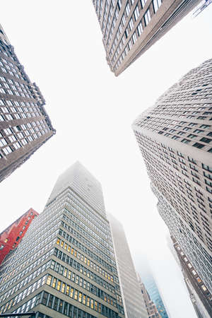 High skyscrapers in New York City